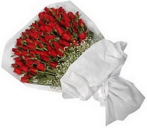 Bolu İnternetten çiçek siparişi  51 adet kırmızı gül buket çiçeği