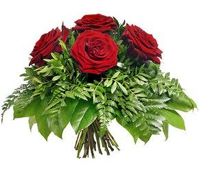 Bolu çiçek mağazası , çiçekçi adresleri  5 adet kırmızı gülden buket