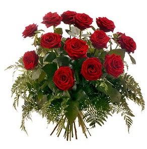 Bolu internetten çiçek satışı  15 adet kırmızı gülden buket