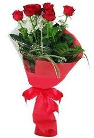 Çiçek yolla sitesinden 7 adet kırmızı gül  Bolu internetten çiçek satışı