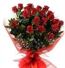 İlginç Hediye 21 Adet kırmızı gül  Bolu internetten çiçek siparişi
