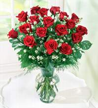 Bolu internetten çiçek satışı  9 adet mika yada vazoda kirmizi güller