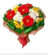 1 demet karışık buket  Bolu hediye sevgilime hediye çiçek