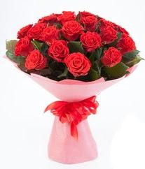 15 adet kırmızı gülden buket tanzimi  Bolu çiçek siparişi sitesi