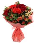 karışık mevsim buketi  Bolu internetten çiçek siparişi
