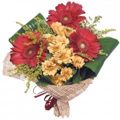 karışık mevsim buketi  Bolu çiçekçi mağazası