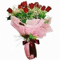 Bolu çiçek siparişi sitesi  12 adet kirmizi kalite gül