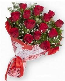 11 kırmızı gülden buket  Bolu güvenli kaliteli hızlı çiçek