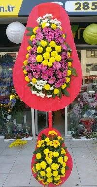 Çift katlı düğün nikah açılış çiçek modeli  Bolu online çiçek gönderme sipariş