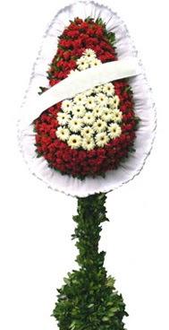 Çift katlı düğün nikah açılış çiçek modeli  Bolu İnternetten çiçek siparişi