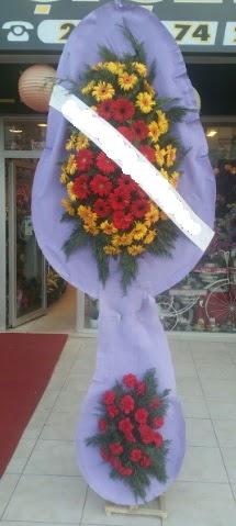 Çift katlı nikah düğüne çiçek modeli  Bolu internetten çiçek siparişi
