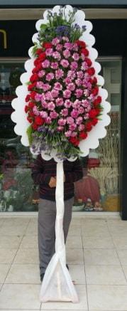 Tekli düğün nikah açılış çiçek modeli  Bolu çiçek satışı