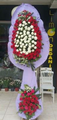 Çift katlı işyeri açılış çiçek modeli  Bolu ucuz çiçek gönder