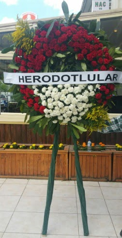 Cenaze çelengi cenazeye çiçek modeli  Bolu çiçek satışı