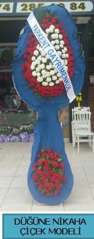 Düğüne nikaha çiçek modeli  Bolu çiçek satışı
