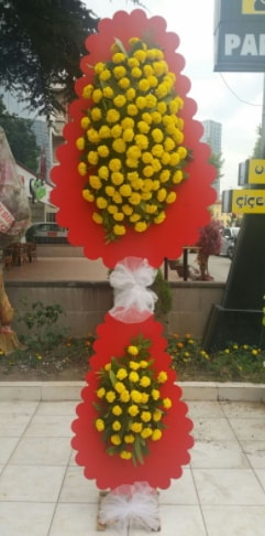 Düğün nikah açılış çiçek modeli  Bolu çiçek siparişi sitesi