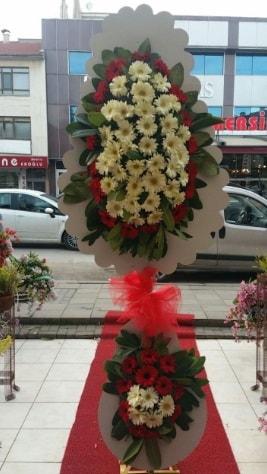 Çift katlı düğün açılış çiçeği  Bolu çiçek satışı