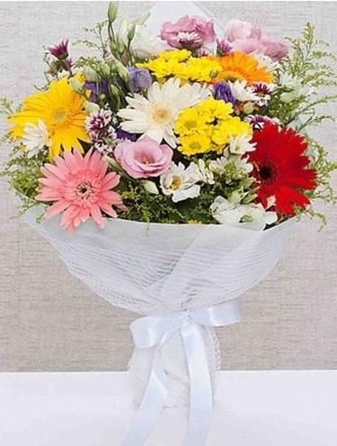 Karışık Mevsim Buketleri  Bolu ucuz çiçek gönder