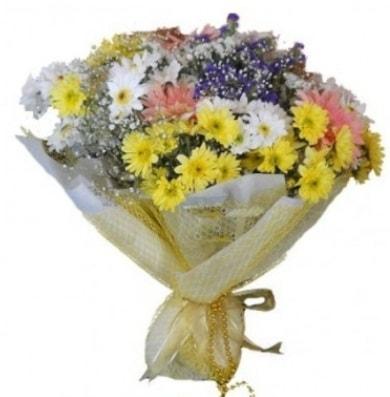 Karışık mevsim çiçeği  Bolu çiçek satışı