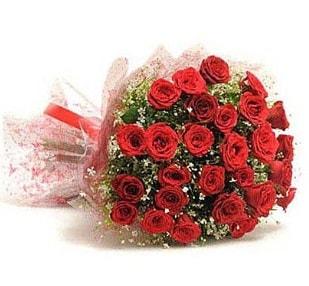 27 Adet kırmızı gül buketi  Bolu ucuz çiçek gönder