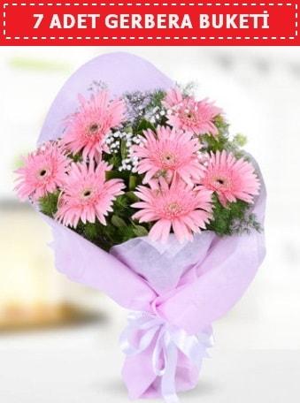 Pembe Gerbera Buketi  Bolu çiçek , çiçekçi , çiçekçilik