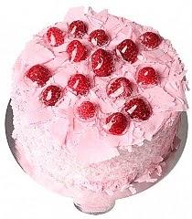 4 Kişilik Frambuazlı yaş pasta